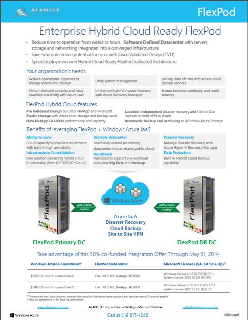 FlexPod Hybrid Cloud Offer