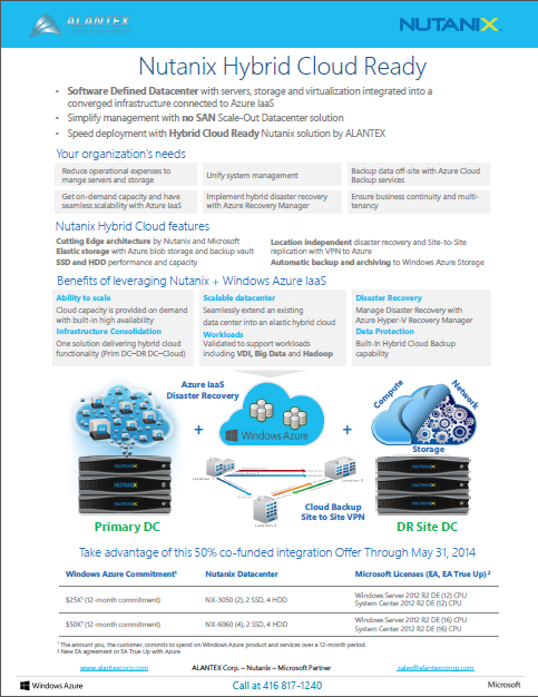 Nutanix Hybrid Cloud Offer
